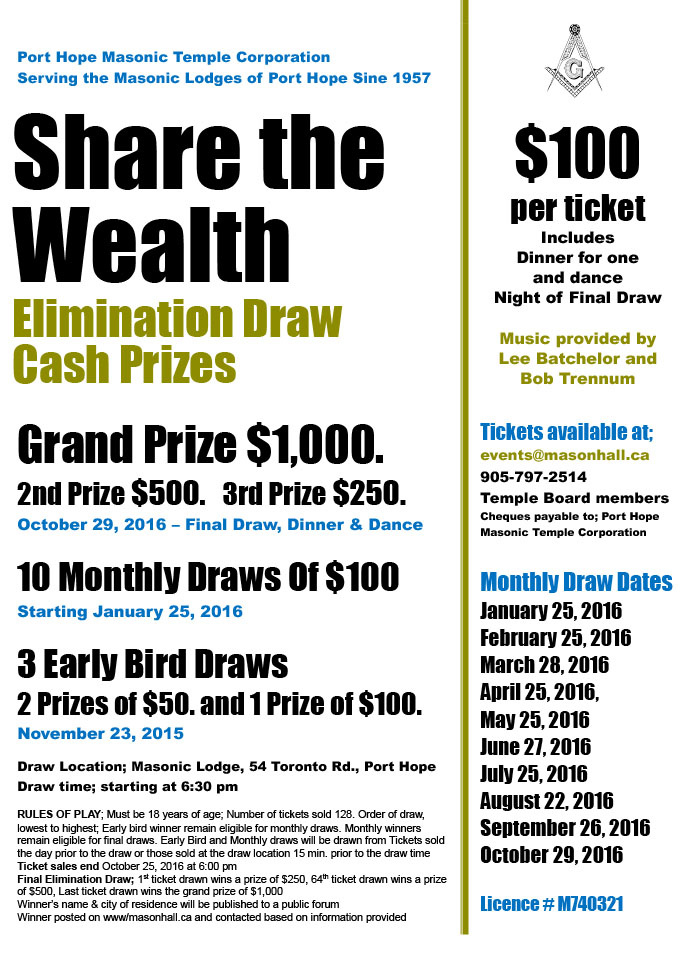 Share the wealth flyer 2